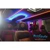 Переоборудование микроавтобуса автобуса,   обшивка салона автомобиля